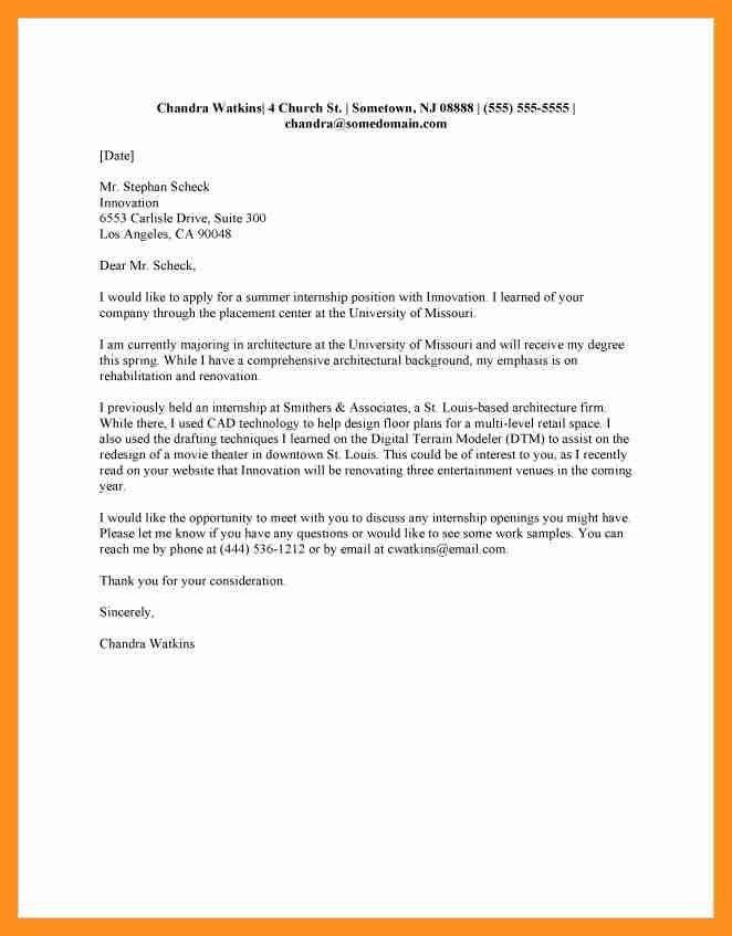 7+ application letter of internship | scholarship letter