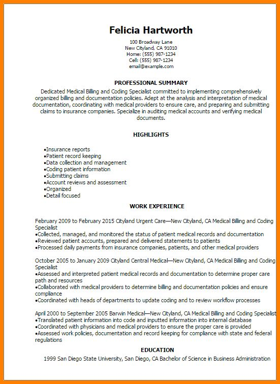 billing resume resume for academic advisor wildlife expert sample ...