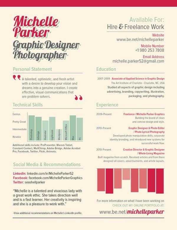 104 best {Design} Resume & Portfolio images on Pinterest | Resume ...