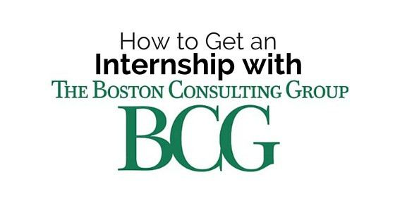 How to Get an Internship With Boston Consulting Group? - WiseStep