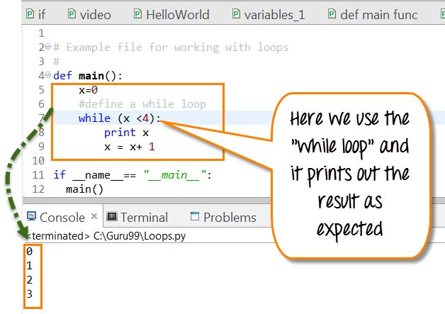 Python For & While Loop with Examples