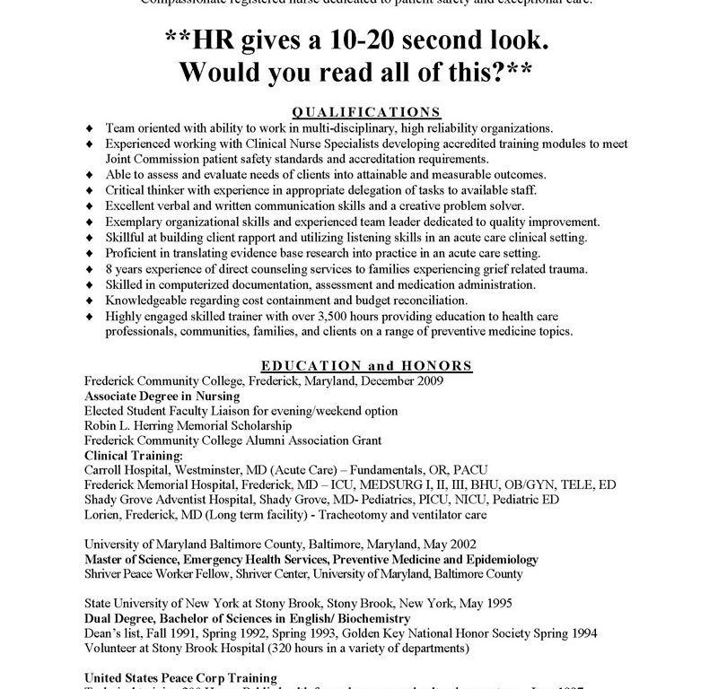 Crafty Design Nursing Resume Samples 16 ProsSample And Medical ...