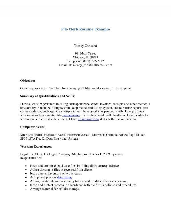 Sample Criminal Law Clerk Resume. prosecutor resume example ...