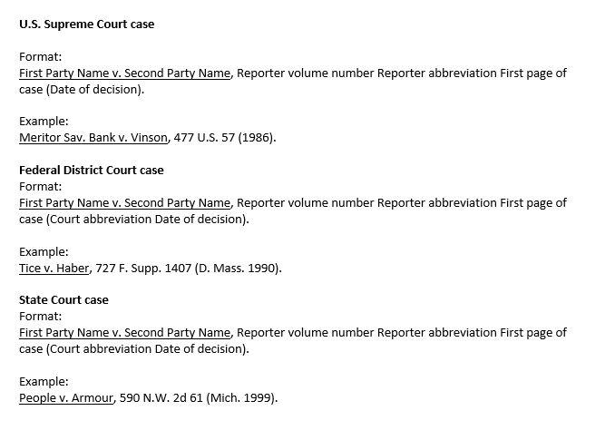 Legal Citation - *School of Justice Studies* - Guides at Rasmussen ...
