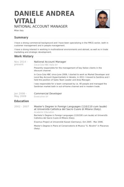 account manager resume sample account manager cv template sample