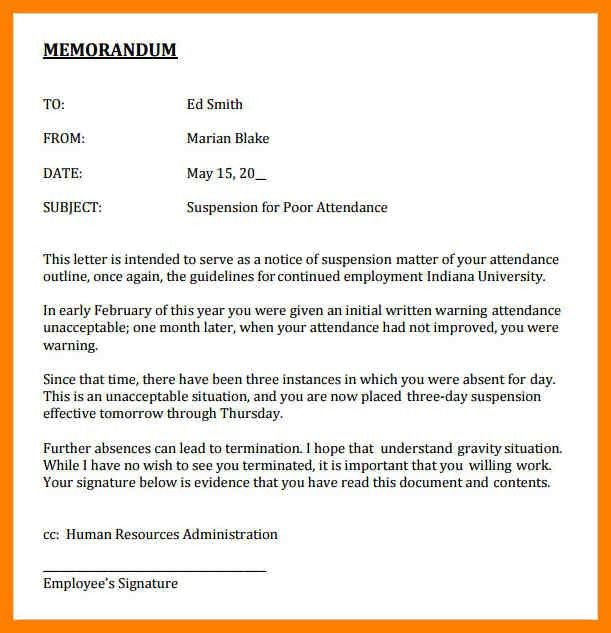 7+ example of memorandum | childcare resume