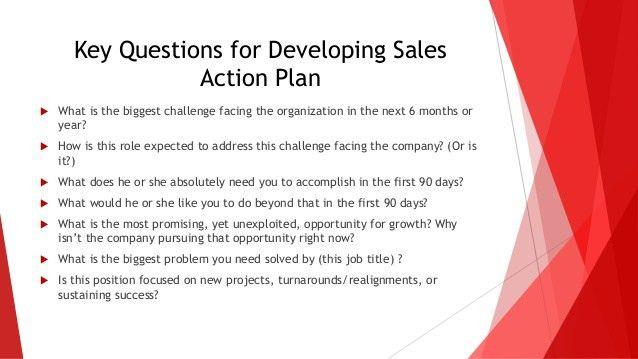 Sales Action Plan Template. Business Sales Action Plan Format ...