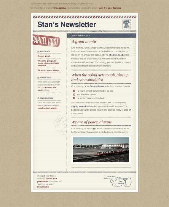 Best 25+ Free email newsletter templates ideas on Pinterest | Free ...
