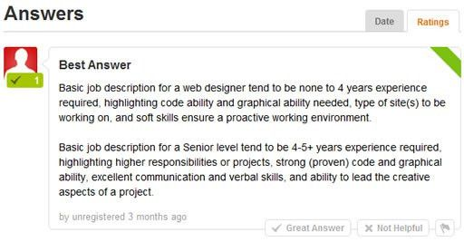 Basic job description for a Web Designer - Design Reviver - Web ...