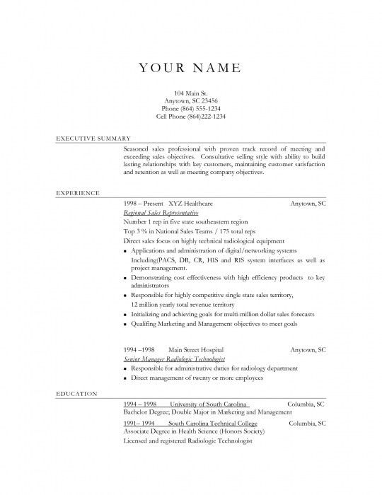 The Most Stylish Resume Objective Examples For Sales | Resume ...