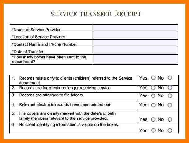 Money Transfer Receipt Template [Template.billybullock.us ]