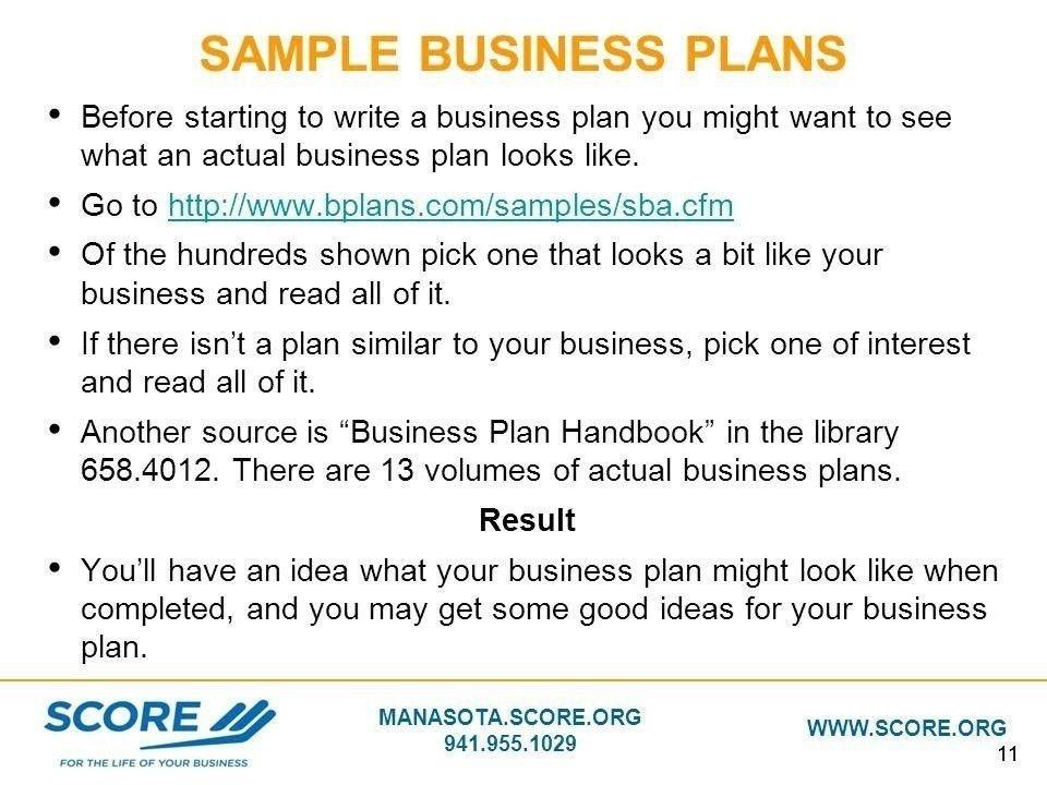 Score Business Templates. score business templates sba business ...