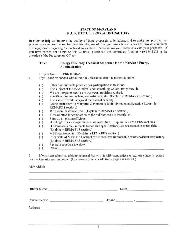 Bid Proposals. Technical Support Proposal Template Sample Download ...