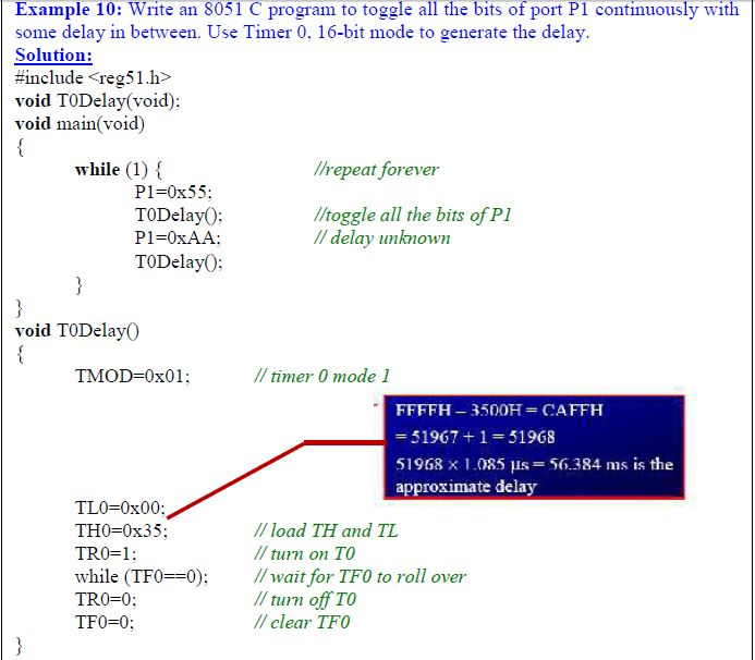 Programming Timer0 and 1 in 8051 C