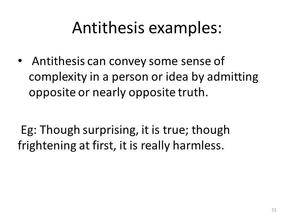 effect using antithesis This post is part of a series on rhetoric and rhetorical devices for other posts in the series, please click this link device: antimetabole origin: from the greek meaning to turn about in the opposite direction.