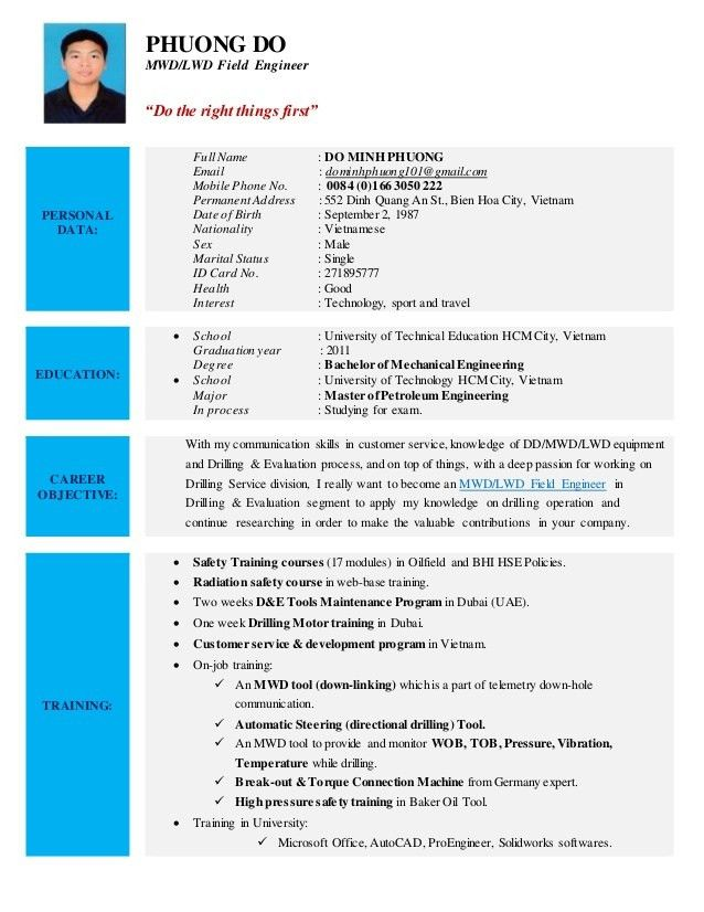 Download Oil Field Engineer Sample Resume | haadyaooverbayresort.com