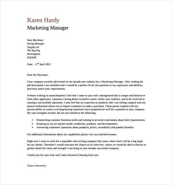 Nobby Design General Cover Letters 12 Resume Letter With Sample ...
