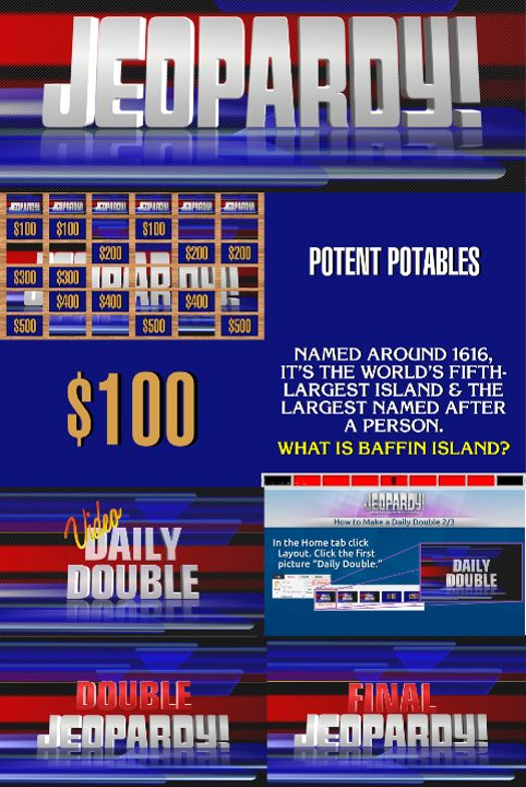 Jeopardy! Template (For PowerPoint 2007+) by Dawsonrp on DeviantArt