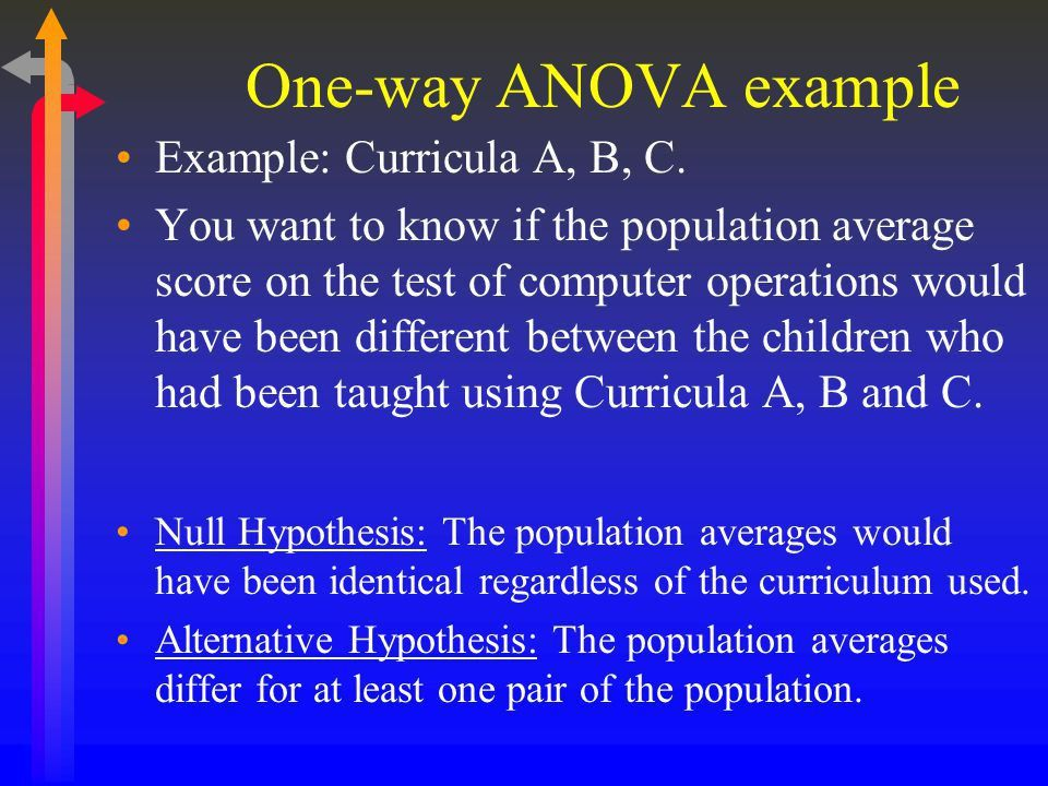 Two Groups Too Many? Try Analysis of Variance (ANOVA) - ppt video ...
