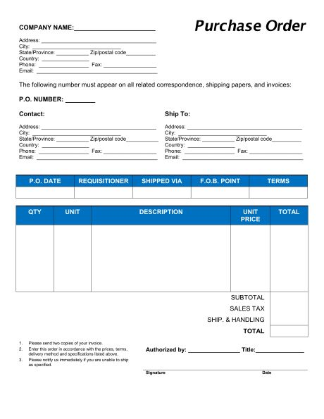 Price Quotation Format - Template & Sample Form | Biztree.com