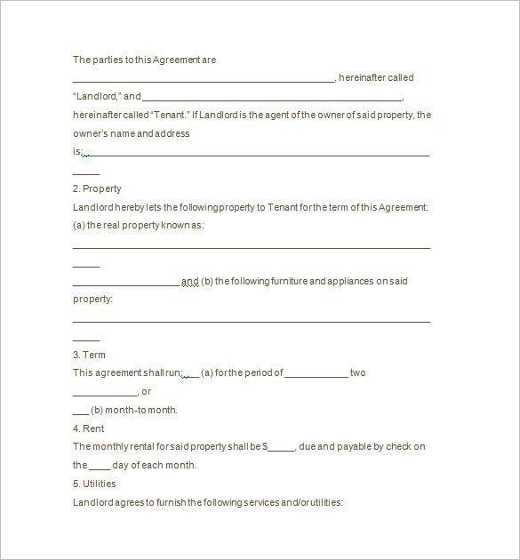 10+ Tenancy Notice Templates - Free Word, Excel, PDF, Format ...