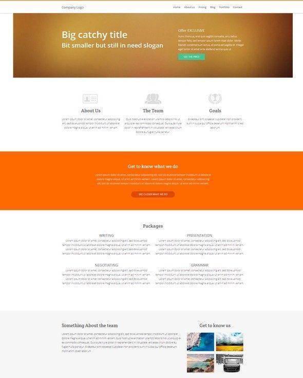 66 Free Responsive HTML5 CSS3 Website Templates 2017