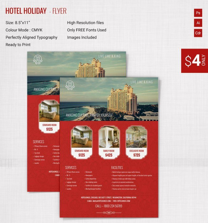 29+ Holiday Brochure Templates – Free PSD, EPS, AI, InDesign, Word ...