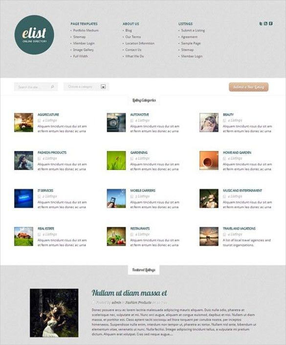 21+ Directory & Listing Website Themes & Templates | Free ...