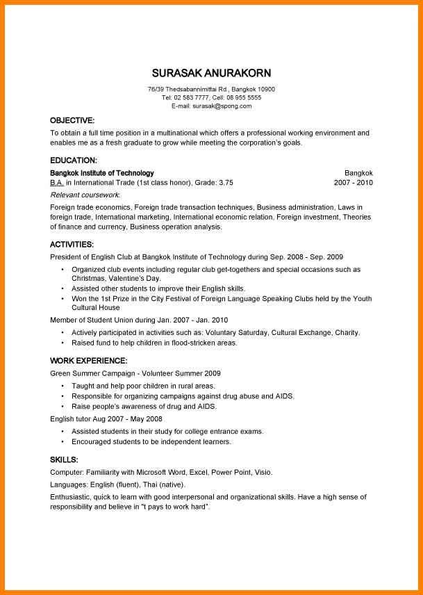 9+ easy resume examples for free | cashier resumes