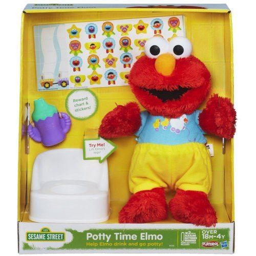 Playskool Sesame Street Potty Time Elmo Toy - Walmart.com