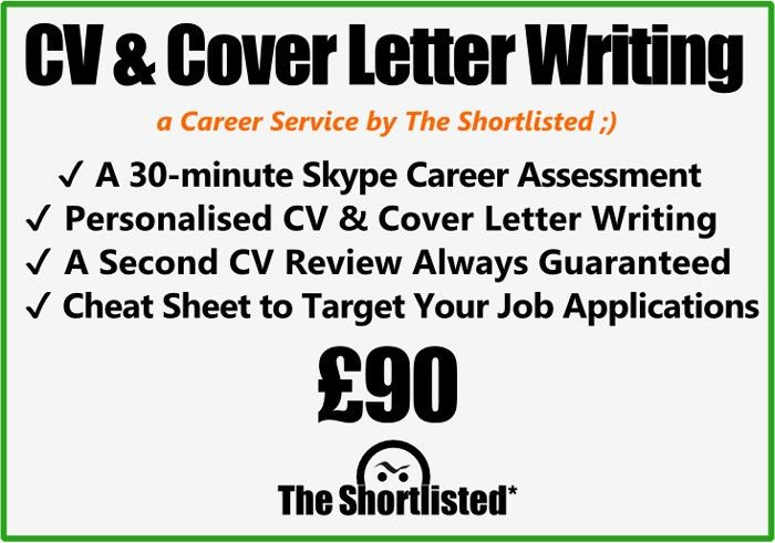 CV & Cover Letter Writing Service | The Shortlisted