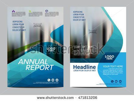 Annual Report Design Template Stock Images, Royalty-Free Images ...