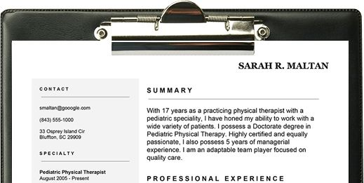 7 Easy Ways to Improve Your Physical Therapist Resume