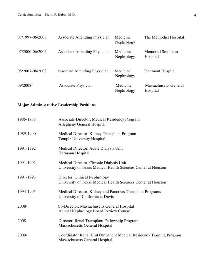 Harvard Medical School Curriculum Vitae Date Prepared : 10/30 ...