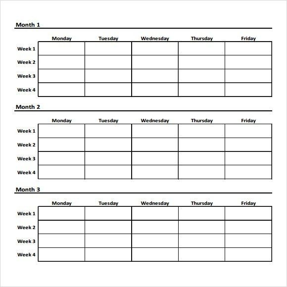 Workout Char Template. Click On The Chart For A Larger, Printable ...