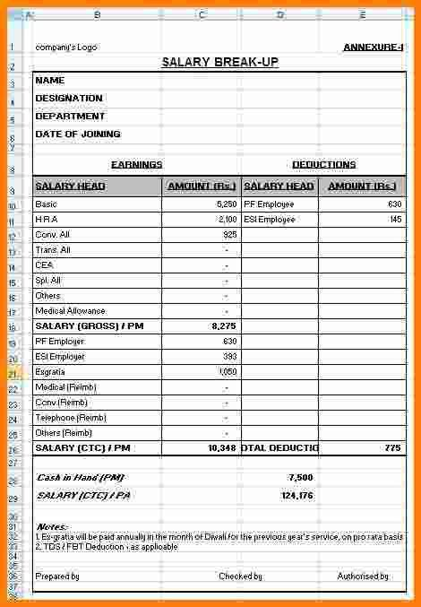 6+ last pay certificate format in excel | ledger paper
