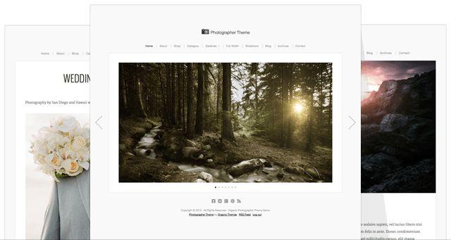 Photographer Theme Update - Beautiful, Responsive WordPress Themes ...