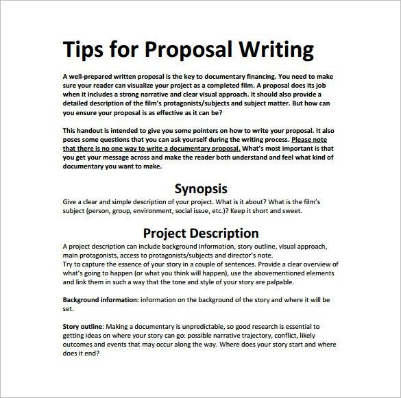 20+ Writing A Funding Proposal Template | Cover Letter Purdue Owl ...