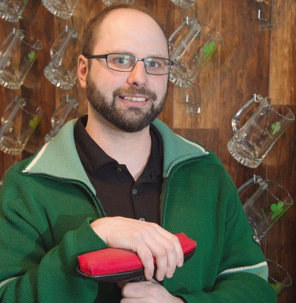 Shamrock Curling Club manager Chris McTavish for a feature on the ...