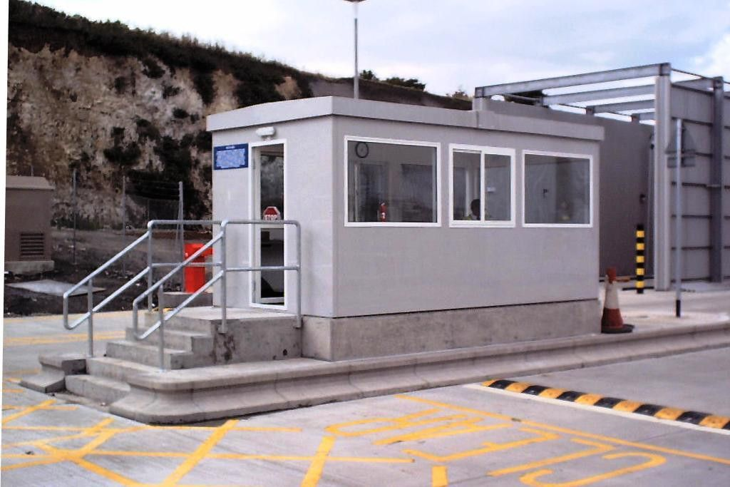 GRP Gatehouses - Toll Booths, Security Housings and Vending Stalls