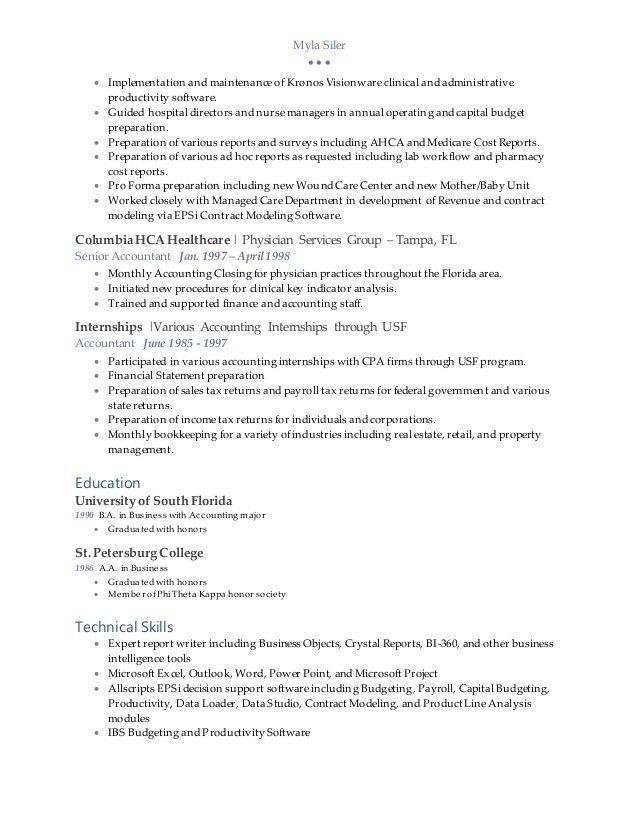 Myla Siler 2016 Resume - Final