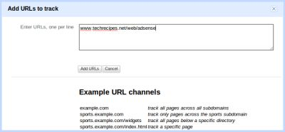 How to track Google AdSense earnings using URL channels
