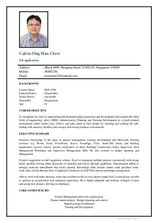 Calvin Ong CV 2015 v3.2