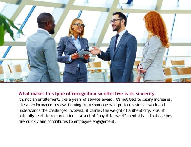 The Basics of Peer-to-Peer Recognition