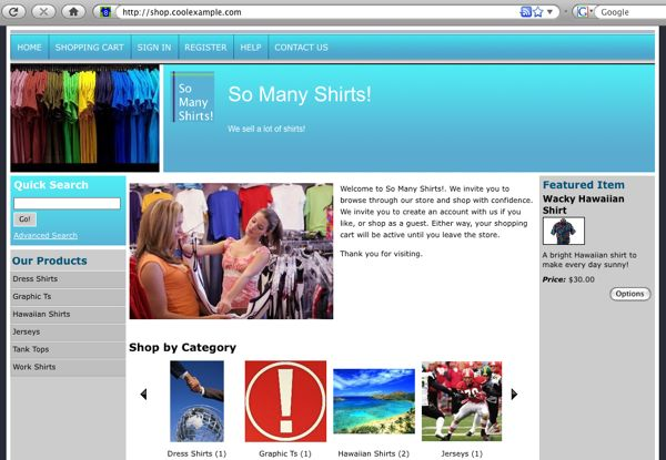 Walkthrough: Designing Your Store in Quick Shopping Cart | Quick ...