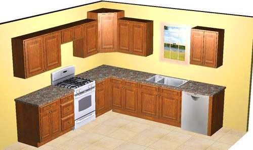 10x10 kitchen designs | 10×10 kitchen plans & 10×10 kitchen floor ...