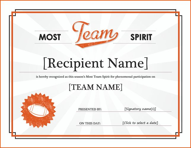7+ award template word - bookletemplate.org