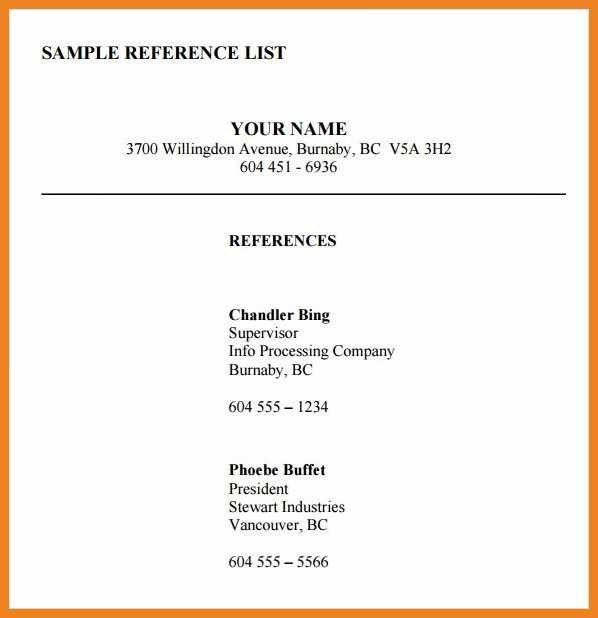 reference list format   teller resume sample