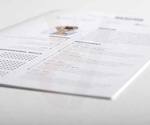 Create a professional resume with this sample student CV
