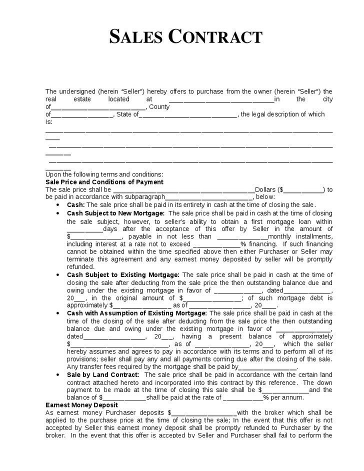 Sales Forms - Small Business Free Forms